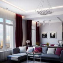 Расстановка мебели в интерьере гостиной
