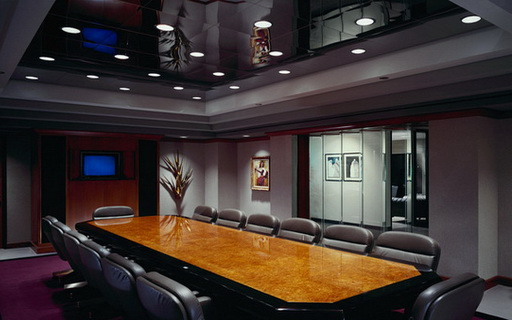Formal Corporate Meeting Room